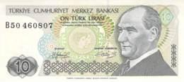 10 Lira Türkei 1970 - Türkei