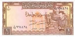 1 Syrisches Pfund Syrien 1978 - Syrie