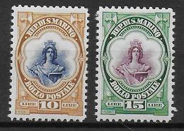 SAINT MARIN - YVERT 156/157 * MLH - COTE = 88 EUROS - Neufs