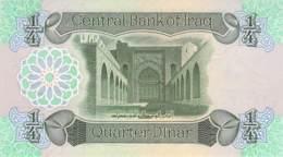 1/4 Dinar Irak 1978 - Iraq