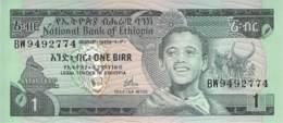 1 Birr Äthiopien 1976 - Aethiopien