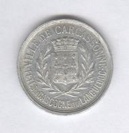 Jeton Ville De Carcassonne - 1898 - Fêtes De Gascogne Et De Languedoc - Le Souleil Me Fa Canta TTB++ - Professionnels / De Société