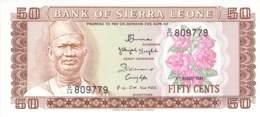 50 Cent Sierra Leone 1979 - Sierra Leona