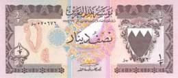 1/2 Dinar Bahrein 1973 - Bahrein