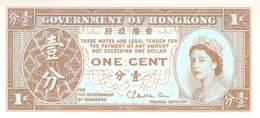 1 Cent Hongkong 1952 - Hongkong