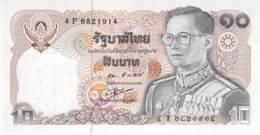 10 Bath Thailand 1980 - Tailandia