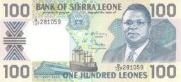 100 Leones Sierra Leone 1988 - Sierra Leone