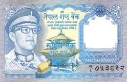 1 Rupee Nepal 1974 - Népal