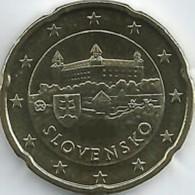 Slovakije 2019    20 Cent     UNC Uit BU  UNC Du Coffret  !! - Slovaquie
