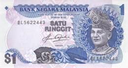 1 Ringgit Malaysia 1976 - Malesia