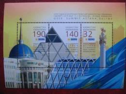 Kazakhstan  2010  Bl. OSCE Summit.  Astana. Dec. 1-2  MNH - Kazakhstan