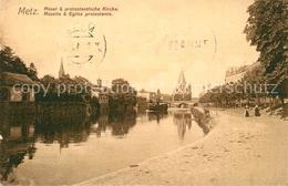 13374778 Metz_Moselle Eglise Protestante Moselle Metz_Moselle - Metz Campagne