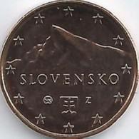 Slovakije 2019    5 Cent     UNC Uit BU  UNC Du Coffret  !! - Slovaquie
