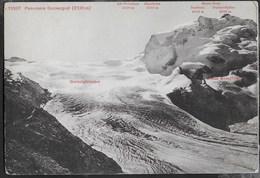 GORNERGLETSCHER - PANORAMA - SVIZZERA - EDIT. PHOTOGLOBE ZURUCH - VIAGGIATA 1912 - Alpinisme