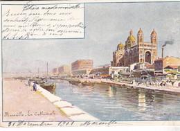 CPA Illustrateur Casimir RAYMOND - Marseille - La Cathédrale - Marseilles