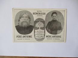 LES GENEREUX  PERE ANTOINE MERE ANTOINE ANTOINISTE L'ARBRE DE LA SCIENCE DE LA VUE DU MAL J. JÖRGENNE EDITEUR JEMEPPE - Seraing