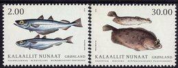 Greenland - 2019 - Fish In Greenland II - Mint Stamp Set - Nuovi
