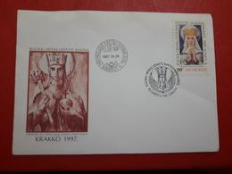 La Hongrie Fdc Une Religion 1997 - Cristianismo