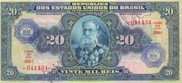 20.000 REIS OU 20 CRUZEIROS 1942 - Brésil