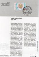 France 1994 Fascicule Grande Loge De France 02888 - Freimaurerei