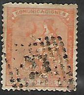 Spain, 1873, 2 Cents, Used - 1872-73 Kingdom: Amadeo I