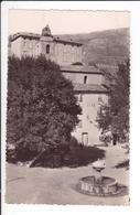 CP - CIPIERES - La Place, Le Château Et L'Eglise - Autres Communes