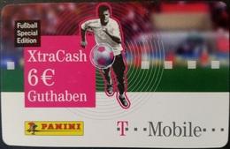 Prepaidcard Deutschland - XtraCash - T Mobile - Fußball - 6 € -  02/08 - Deutschland