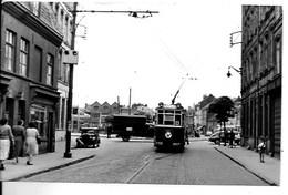 LILLE - TRAMWAY - Place Des 4 Chemins - PHOTO 9 X 14 Cm. - Lille