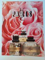 Pub Parfum Magazine Yves Saint Laurent - Autres
