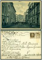 CARTOLINA - SALERNO - V9629  Propaganda Di Guerra 30 C. Isolato Su Cartolina Da Salerno (SA) Per Lauria Inferiore, - Salerno
