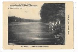 EGLISENEUVE D'ENTRAIGUES  (cpa 63)  Le Lac De La Landie  -  L 1 - France