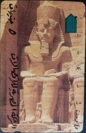 Telefonkarte Ägypten - Pharao - Aegypten