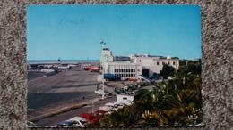 CPSM AEROPORT DE NICE COTE D AZUR AUTO AVION CAMION CITERNE ED LA CIGOGNE 1972 - Aérodromes