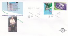 Netherlands 1988 FDC Europa CEPT (C110A) - Europa-CEPT