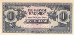 1 Dollar (Malaya) Japanese Goverment 1942 - Malaysie