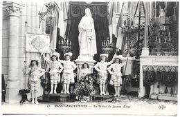 PASSY-FROYENNES ---La Statue De Jeanne D'Arc - Tournai