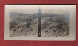 Vue Stéréoscopique état Du Fort De La Pompelle à La Fin De La Guerre - 1914-18