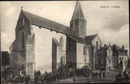 Cp Nexon Haute Vienne, L'Eglise - Frankrijk