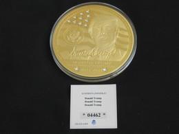 Magnifique Et Imposante Médaille USA  - DONALD TRUMP   -   **** EN ACHAT IMMEDIAT *** - Etats-Unis