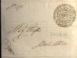 1812 SENIGALLIA PER MONTALBODDO - Italy