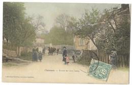 CPA 88 CHATENOIS Entrée Du Vieux Bourg - Chatenois