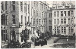 Passy-Froyennes  Cour D'Honneur .Un Jour De Fête. - Tournai