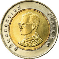 Monnaie, Thaïlande, Rama IX, 10 Baht, 1997, SPL, Bi-Metallic, KM:227 - Thaïlande