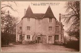 36 / NÉONS Sur CREUSE (Indre) - Château - Francia
