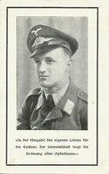 Sterbebild Soldat 2. Weltkrieg Luftwaffe Obergefr. 23.09.1943 Rennes - 1939-45