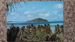 CPM WALLIS ET FUTUNA VUE D UN MOTU WALLIS T O M PHOTO CLAUDE LEGUEBE LOSA PACIFIC - Wallis Et Futuna
