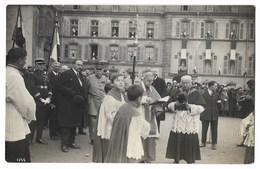 CPA 88 SENONES Carte Photo Bénédiction Avec Maréchal Joffre Et Monseigneur Verlot, Généraux ...- Photo Ch Marchal - Senones