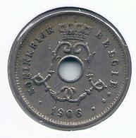 LEOPOLD II  * 5 Cent 1906 Vlaams * Prachtig / FDC * Nr 5205 - 1865-1909: Leopold II