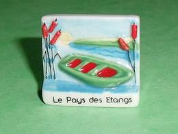Fèves / Pays / Région : Le Pays Des étangs , Barque  , Pays De Sarrebourg T9 - Regionen