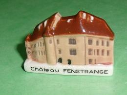 Fèves / Pays / Région : Chateau Fenetrange , Pays De Sarrebourg T9 - Regionen